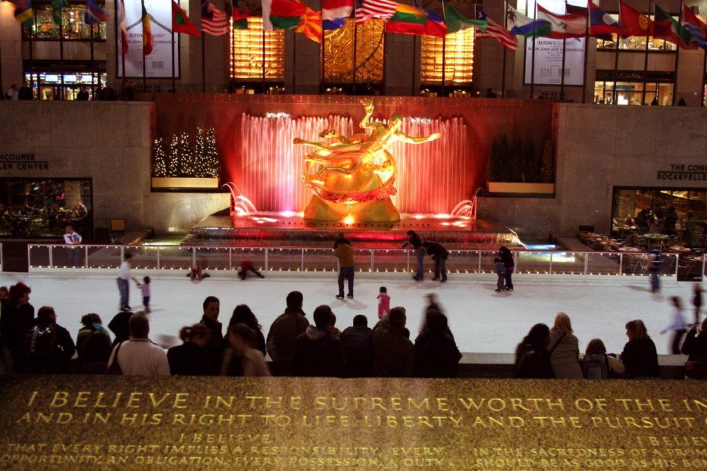 rockefeller center new-york
